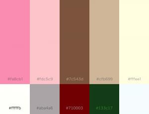 Neapolitan Color Pallet