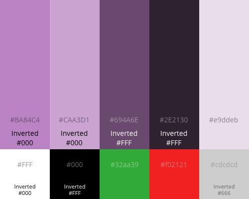 Lilac Boxed Palette